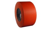 Neon Orange Three Inch Gaffers Tape-Pro Gaffer